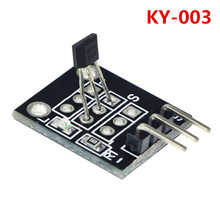 3pin KY-003 Hall Magnetic Sensor Module for arduino Diy Kit