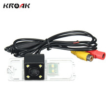 Kroak Car CCD Night Vision Backup Rear View Reversing Camera For VW /Polo /Golf /Jetta /Magotan /Bora