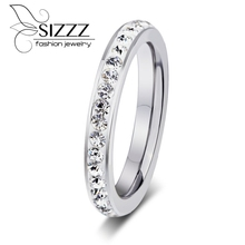 SIZZZ CZ jewelry High Qualitys sticky mud women of color rings fashion jewelry rings(China)