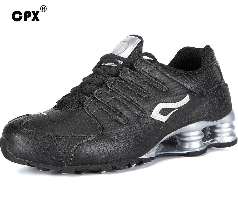 Original CPX Men Leather Shox tenis Sports Shoes Crocodile Black White men Tennis zapatillas deportivas hombre athletic sneakers<br><br>Aliexpress