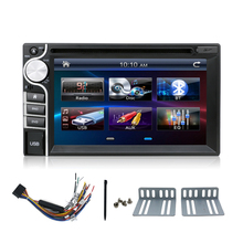 Eunavi new 2 DIN Car DVD Player Double Radio Stereo In Dash MP3 Head Unit CD Camera parking  HD TV Radio Video Audio
