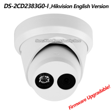 Hikvision New English Version DS-2CD2383G0-I IP 8MP Network Turret Camera Outdoor HD H265+ 120dB WDR IP67 4K CCTV Dome Webcam(China)