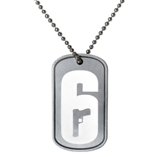 Tom Clancy's Rainbow Six Siege Operators Necklace Dog Tag High Quality Pendant for Boyfriend Boy Birthday Gift(China)