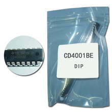 20pcs/lot CD4001 CD4001BE HEF4001 HCF4001 DIP-14 electronic ic circuit(China)