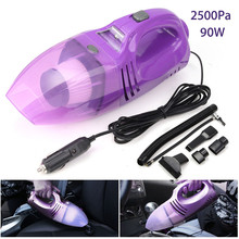 Portable Car Vacuum Cleaner Wet and Dry Dual-Use Super Suction 75W Car Vacuum Cleaner 12V Duster Dirt Collector Air Pump For Car