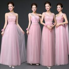 Long Bridesmaid Dresses Hot Sale ! 2017 New Arrival Ball Party Gowns Floor Length 4 Styles A-Line Organza Formal Dress