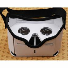 3D Google DIY VR BOX Virtual Reality Glasses Cardboard Game Movie Private Theater For Iphone Android Cellphone(China)