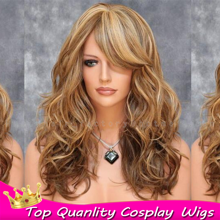 Amazoncom Black Hair with Blonde Highlights
