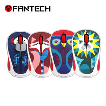FANTECH W235Z Realiable Portable Wireless Mouse Cute Mini 2.4 GHz Wireless Optical Mouse Mice for PC Laptop Notebook(no battery)