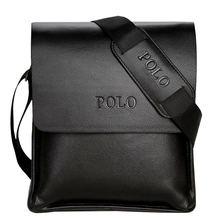 2017 POLO Famous Brand Classic Men Messenger Bags Top Leather Promotional Casual Business Design Man Bags Shoulder Bag Briefcase(China)