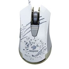 Best price 6 Buttons Wired Gaming Mouse LED Optical Game Mice For PC Laptop(China)