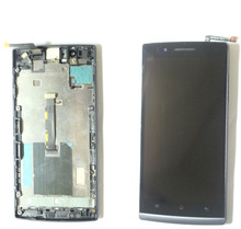 For OPPO Find 5 X909 Full Black Touch Screen Digitizer Glass Sensor + LCD Display Panel Screen Monitor Moudle Assembly Frame