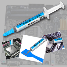 For 2G HY810-OP2G Universal Thermal Grease Syringe Thermal Grease Silver CPU Chip Heatsink Paste with A Plastic Tool(China)