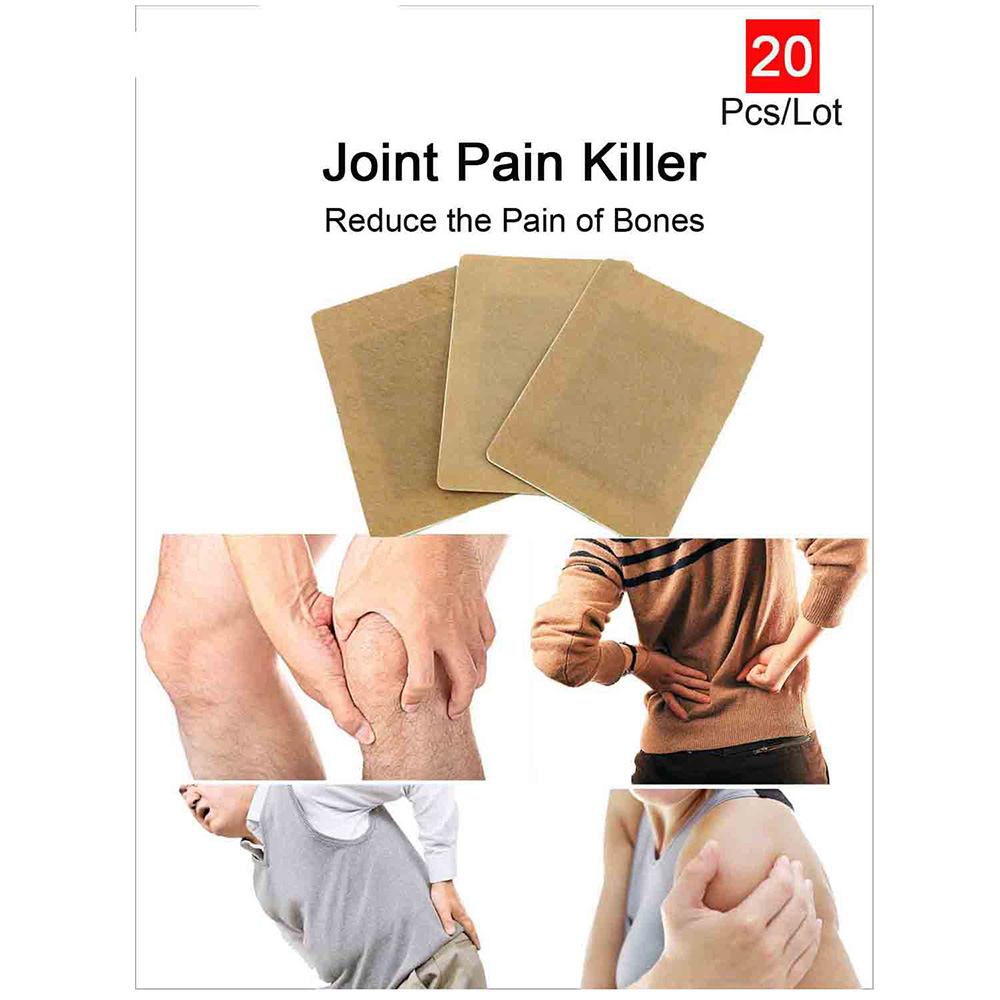 20pcs Tiger Balm Far IR Treatment Porous Chinese Medical Plaster Pain Relief Patch Relieve Joints Pain Relief Patch C074<br><br>Aliexpress