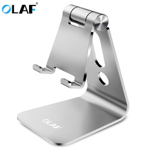 Buy OLAF Universal Aluminum Alloy Phone Stand Holder Adjustable Cell Phone Stand Charging Hole Desktop Tablet Support iphone 7 8 for $7.99 in AliExpress store