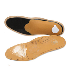 2 pairs New Style Leather Arch Support Insole Flat Feet Orthotic Insole flat foot correct feet care orthopedic insert shoe pad