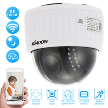 KKmoon 1080P Wireless WIFI HD PTZ IP Camera 2.8~12mm Auto-Focus 4X Zoom Lens Indoor Security CCTV Camera 2.0MP Night Vision(China)