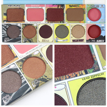 Brand New Yosister 11 colors eyeshadow pallete matte professional women eyes beauty makeup cosmetic set with blush
