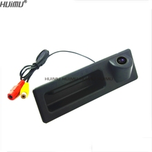 wireless wire car Rear Camera for SONY CCD BMW new series 3/new seris 5/ 2012 X3/F10 / F11 / F25 trunk handle parking assist