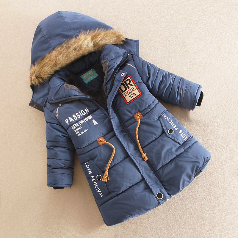 YNB High Quality Boys Winter Coat Jacket Childrens Winter Jackets for Girls Keep Warm 5-7Y Childrens Clothing Red Blue GreenОдежда и ак�е��уары<br><br><br>Aliexpress