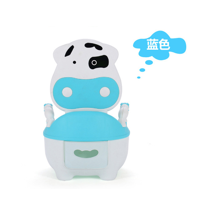 1Pcs 4 Colors Wonderful High Quality Baby Toilet Comfortable Cows Drawer Potty Small Infants for Young Children As Baby Care<br>