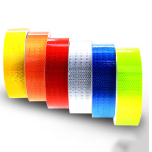 5cm Width Lattice Reflective Tape Stickers Car Styling Automobile VehicleTruck Motorcycle Cycling Warning Mark Strip DIY Decal