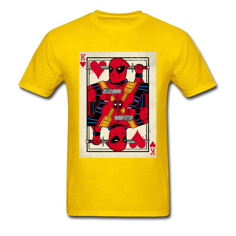 Deadpool Playing Card_yellow