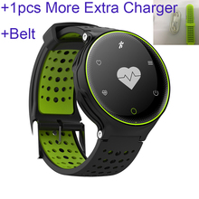 1pcs more extra charger + belt  2017 professional outdoor smart band hot selling healthy wristband best wrist bracelet gift