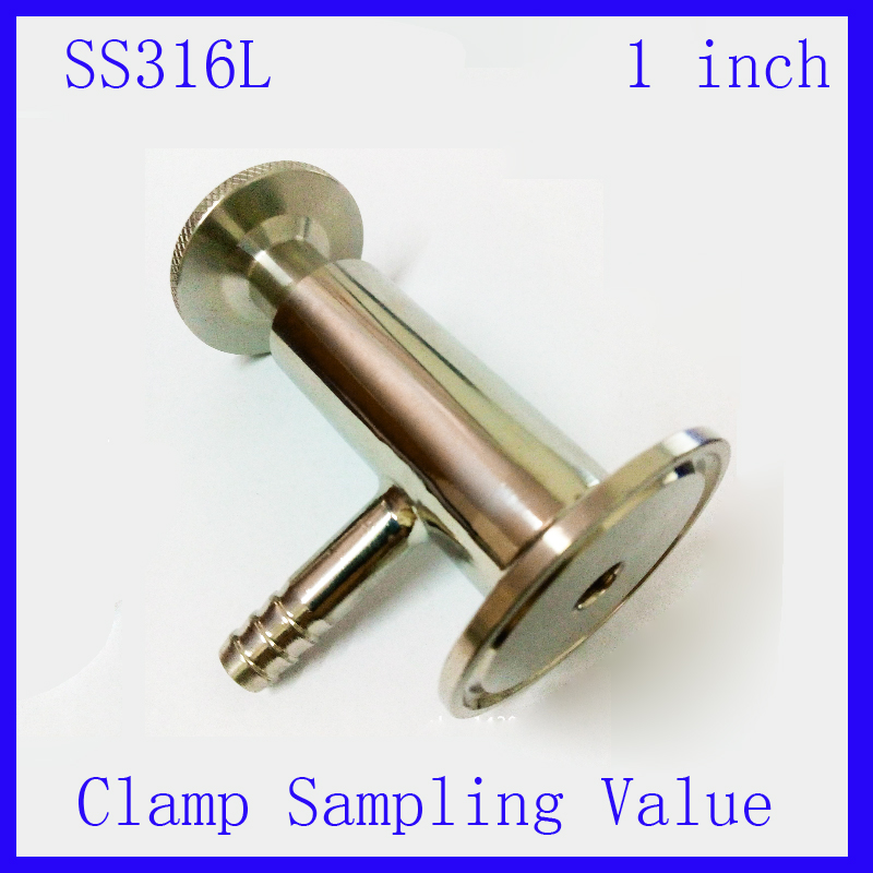 1 SS 316 Stainless Steel sanitary food medicine sampling sterility valve Clamp end<br><br>Aliexpress