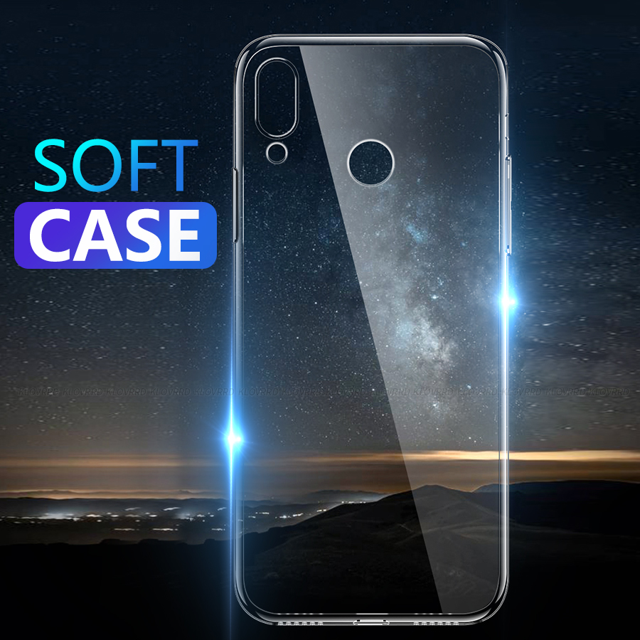 Soft Silicone TPU Case For Huawei P Smart Plus 2019 P20 P10 Mate 10 20 9 Lite Pro Honor View Note 10 Play 8X Max Nova 4 3 3i V20(China)