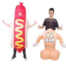 Buy Inflatable Willy Adult Fancy Dress Costume Stag Night Halloween Penis Cosplay Girl Riding Dick Costume Halloween Purim Party