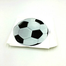 20pcs/lot new football napkins kids birthday party supplies football paper napkins happy birthday party supplies football tissue(China)