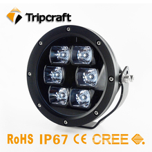 2017 The New Hot Sale high quality 60W LED Work Light 6Inch LED Driving Light for Work Car Boat Tractor Truck 4x4 SUV ATV 9V 80V(China)