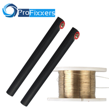 100M Golden Molybdenum Wire Cutting line with handle bar For Iphone 4s/5/6/6S Samsung S4/S3 Glass LCD Screen Separator(China)