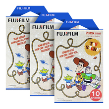 Fujifilm Instax Mini 20th Toy Story Instant 30 Film for Fuji Mini 7s 8 25 50s 70 90 & Share SP-1, 2(Hong Kong)