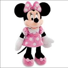1pcs 50cm New Minnie Mouse Minnie Mickey Pelucia Pink Plush Stuffed Doll Mickey Toys Best Gifts for Girlfriend and Children(China)