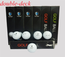 Original Brand Caiton 40pcs/box Two Piece Ball Golf Professional Games Balls Practice Balls
