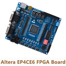 Altera Cyclone IV EP4CE6 FPGA Development Kit FPGA доска + NIOS USB blatser + инфракрасный + кронштейн(China)