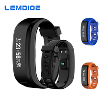 LEMDIOE XR01 Smart Band Professional Waterproof Swim Smart Bracelet Support Heart Rate Monitor Call Reminder for Android IOS