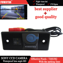 FUWAYDA Color SONY CCD Chip Car Rear View Camera WATERPROOF NIGHT VISION for PORSCHE CAYENNE VW SKODA FABIA TIGUAN TOUAREG HD(China)