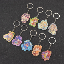 fashion lychee Love Live Japan Anime Cosplay One Sided Acrylic Figure Pendant Key Ring Key Chain