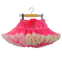 Baby Girls Tutu Skirt Fluffy Children Ballet Kids Pettiskirt Baby Girl Skirts Princess Tulle Party Dance Skirts Free Shipping
