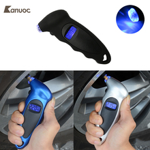Professional Tire Gauge Digital Tire Pressure Gauge Comfortable Ergonomic Handle Tester Tool 150PSI For All Auto Car Motorcycle(China)