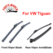 Windscreen Wiper Blades For VW Tiguan,2007 Onwards,Fit Windshield Silicone Rubber Wipers Arm,Auto Parts Car Accessories