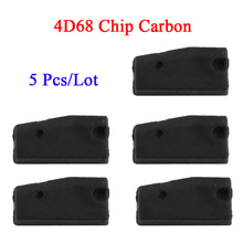 5 Pcs/Lot High Quality Car Key Chips for Daihatsu and for Myvi 4D68 Chip Carbon(China)