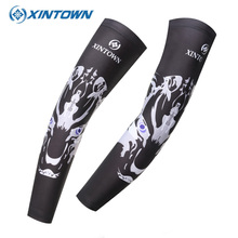 XINTOWN Men Sleeve Sport Archery Cycling Arm Warmer For Running Bike Oversleeve Sunscreen Hunting Hiking Fishing Armwarmers(China)