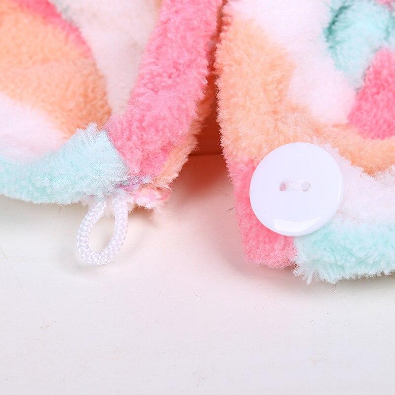 GIANTEX Women Bathroom Super Absorbent Quick-drying Microfiber Bath Towel Hair Dry Cap Salon Towel 25x65cm U0755 12