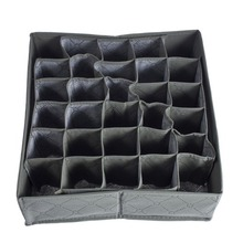 New Arrival Wholesale Price 30 Cell Bamboo Charcoal Underwear Ties Socks Drawer Closet Organizer Storage Box Fit For Collection