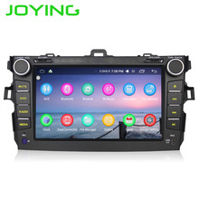 Joying latest 2GB Double 2 Din Android 6.0 Car Radio GPS Navigation Head unit Steering wheel HD No DVD System For Toyota Corolla