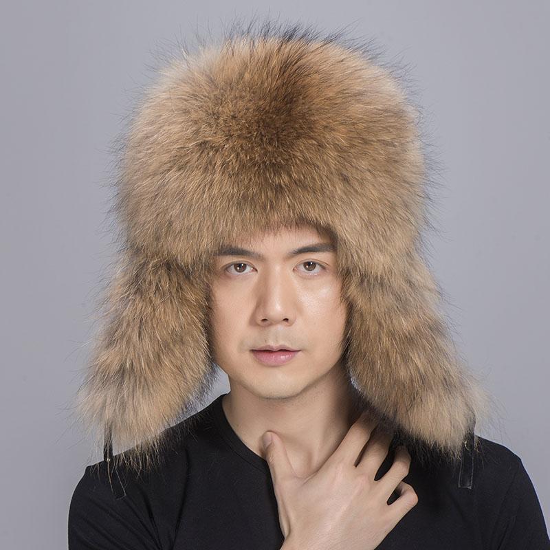 big fur hat raccoon fur 5